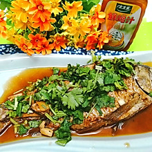 #太太乐鲜鸡汁玩转健康快手菜#味道非常鲜美的红烧鲫鱼