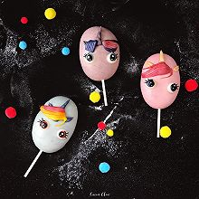 【卡通馒头&卡通包】小马宝莉雪糕馒头,棒棒糖馒头