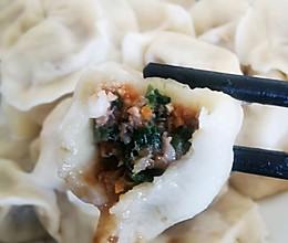 #牛气冲天#油麦菜牛肉馅饺子的做法