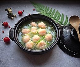 #冰箱剩余食材大改造#萝卜虾丸汤的做法