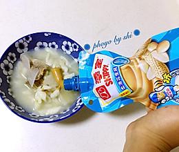 四季宝花生酱拌猫耳朵#趣味挤出来,及时享美味#的做法