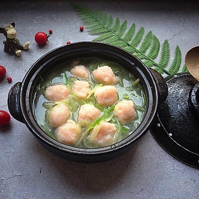 萝卜虾丸汤