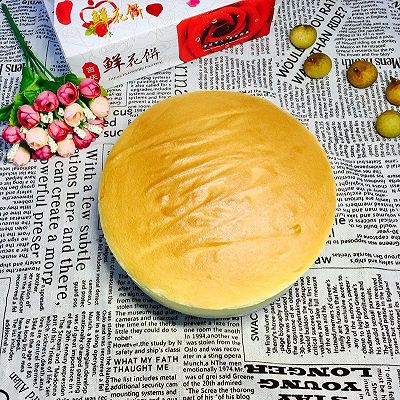 八寸无油酸奶蛋糕(减肥也能吃)