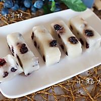 蓝莓奶香糯米年糕#果瑞氏#的做法图解9