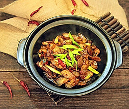 干锅腊肉的做法
