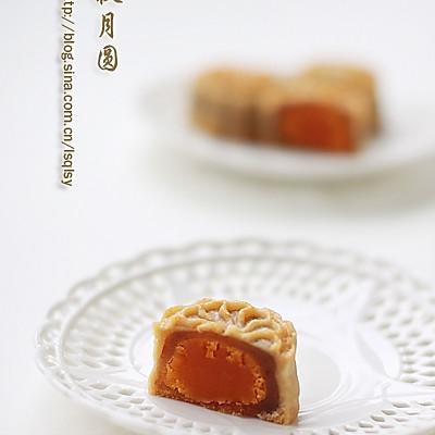 廣式月餅.蓮蓉蛋黃月餅--【食心食意】