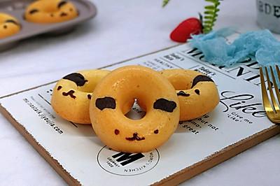 不一样的甜品~萌狗甜甜圈