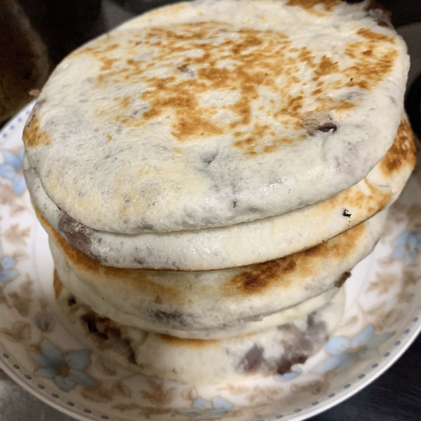 家常面食—豆沙饼的做法