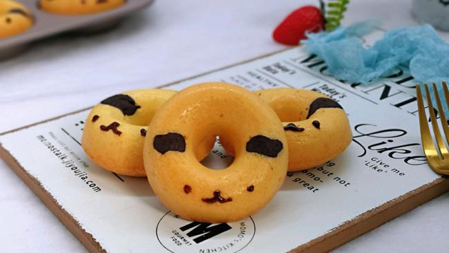 不一样的甜品~萌狗甜甜圈的做法