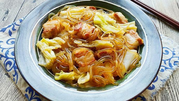 【新品】猪肉白菜炖粉条~冬日暖胃家常菜