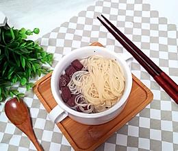 鸭血豆腐汤面的做法