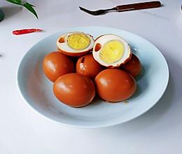 茶盐乐色酱卤蛋的做法