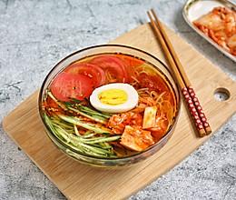 #美食视频挑战赛# 朝族家常冰镇大冷面的做法
