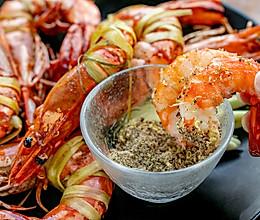 香茅煎虾 | 吮指小食的做法