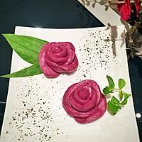 紫薯花朵酒酿馒头--中式面点(1)的做法图解9