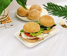 #精品菜谱挑战赛#超软低脂的汉堡的做法
