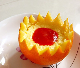 橙子味鸡蛋羹的做法