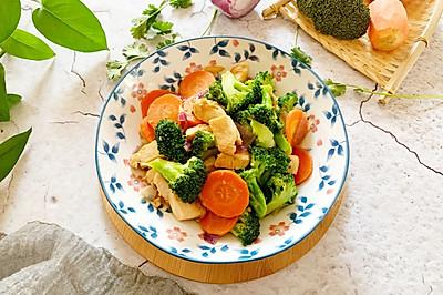 减脂营养餐-鸡胸肉西兰花