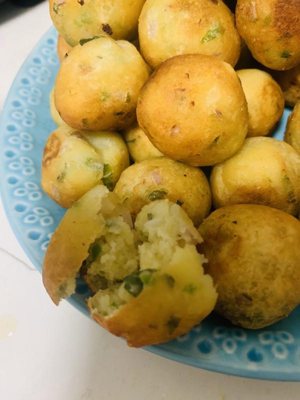 土豆泥小丸子的做法