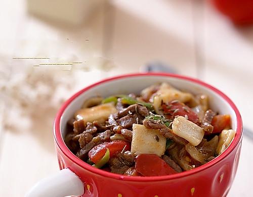 新疆面食:丁丁炒面