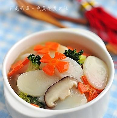 彩蔬炖年糕