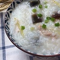 """五常大米: 皮蛋瘦肉粥#在""""家""""打造ins风美食#的做法图解10"""