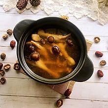 #秋天怎么吃#香菇红枣鸡脚汤