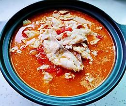 浓汤番茄乌鱼片 (汤浓鱼片嫩滑 滋补养颜又低卡)的做法