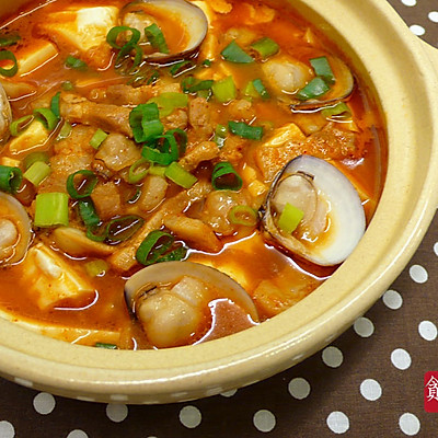 韩风辣酱豆腐煲  ♥ EZ豆腐煲 4
