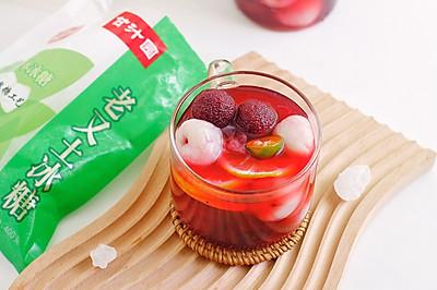 夏日清凉冰爽冷饮,水果千层