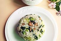 一碗咸肉菜饭的做法