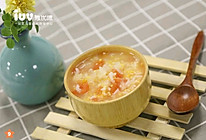12m+宝宝餐 番茄银耳玉米粥的做法