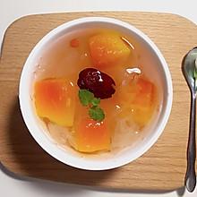 木瓜银耳汤(羹)--秋冬季必备滋补养颜甜汤