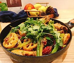 香锅排骨&鸡翅(一锅搞定荤素)的做法