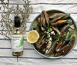 法式白葡萄酒煮青口的做法