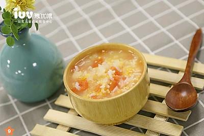 12m+宝宝餐 番茄银耳玉米粥