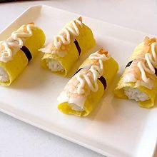 基围虾蛋皮寿司