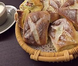 葱香早餐包的做法