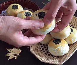 雪媚娘蛋黄酥的做法