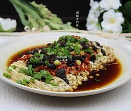 开胃下饭菜,剁椒金针菇的做法