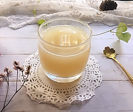 雪梨莲藕汁的做法