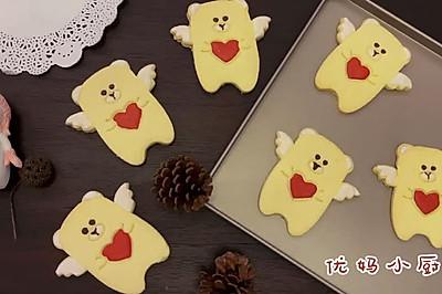 天使熊饼干