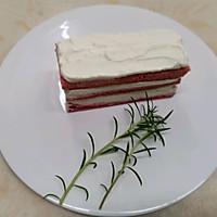 #美食新势力#草莓戚风无花果蛋糕的做法图解34