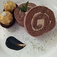 巧克力乳酪瑞士卷