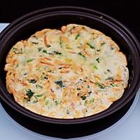 #春天肉菜这样吃#鹅蛋菠菜早餐饼的做法图解15