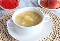 苹果红糖小米粥#发现粗粮之美#的做法