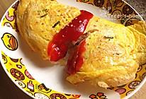 日式蛋包饭(快速消灭剩饭)的做法