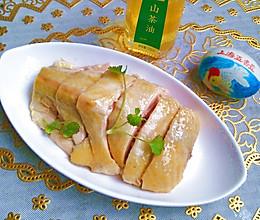 茶油白斩鸡#沃康山茶油#的做法