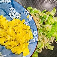 #太太乐鲜鸡汁芝麻香油#鸡蛋炒乌冬面的做法图解13