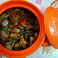 野味砂煲鸡煲的做法图解9
